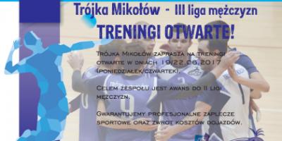 mikolow trening